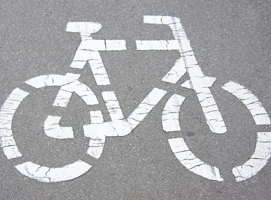 foto fietspad